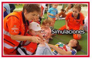 Simulaciones en la enseñanza de primeros auxilios a niños