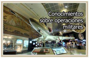 Ampliación de conocimientos sobre operaciones militares