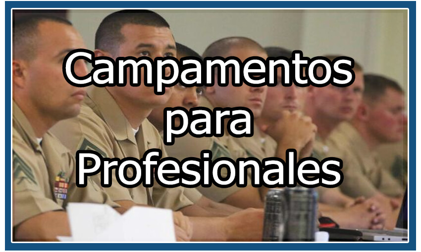 Campamentos para profesionales
