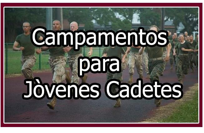Campamentos para Jóvenes cadetes