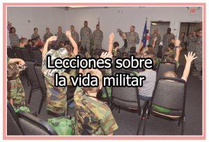 Sobre la vida militar