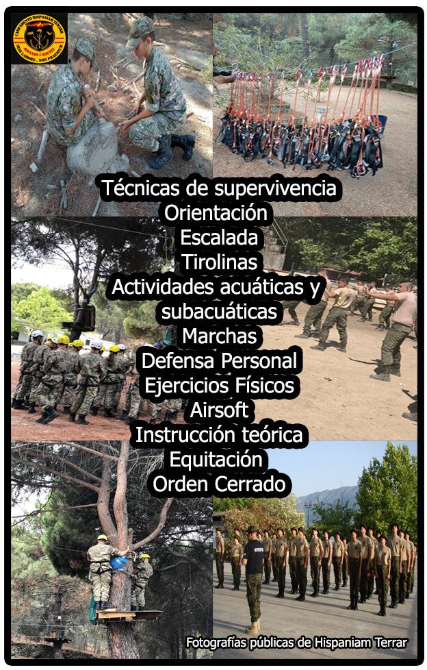 Actividades Hispaniam Temarr