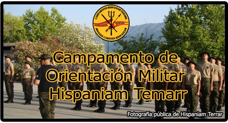 Campamento de Orientación MIlitar Hispaniam Terrar