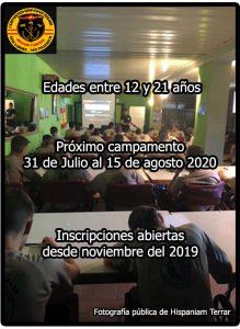 Campamento de Orientación Militar Hispaniam Temarr información general