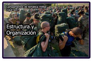 Estructura y organización de los campamentos militares