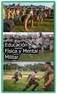 Educación física y mental militar