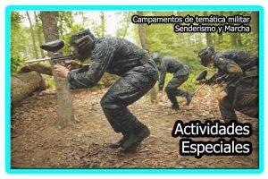 Activiades especiales