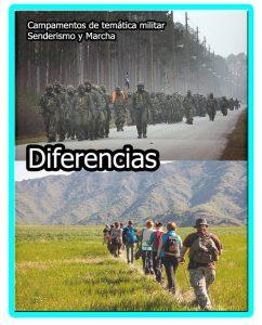 Diferencia entre marchas y senderismo