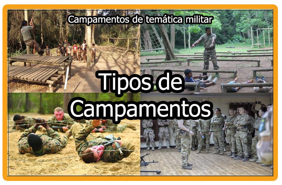 Tipos de Campamentos