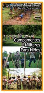 Campamentos militares para niños