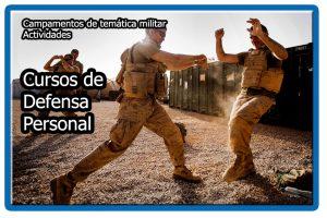 Cursos de defensa personal militar