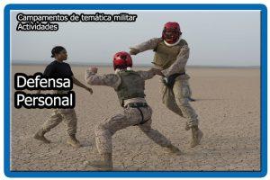 Actividades de defensa personal
