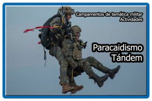 Paracaidismo tándem