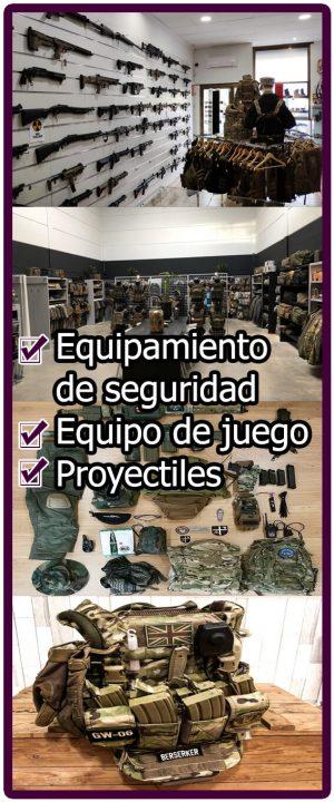 Equipación Airsoft