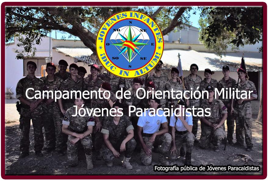 Campamento de Orientación Militar Jóvenes Infantes Paracaidistas