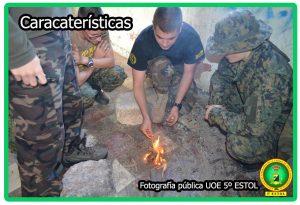Caracteristicas del campamento UOE 5 ESTOL