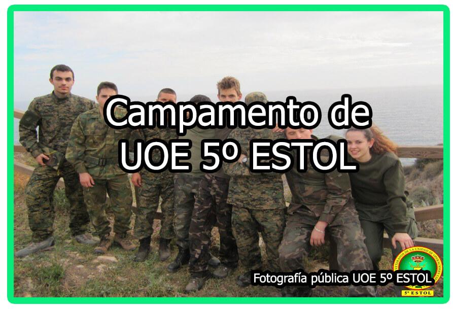 Campamento de UOE 5º ESTOL
